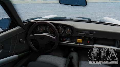RUF CTR Yellowbird 1987 v1.1 Another Edition para GTA San Andreas vista hacia atrás