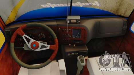 Mack Vision Trailer v3 para GTA San Andreas vista hacia atrás
