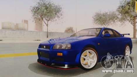 Nissan Skyline GT-R 2005 Z-Tune Nismo Prototype para GTA San Andreas