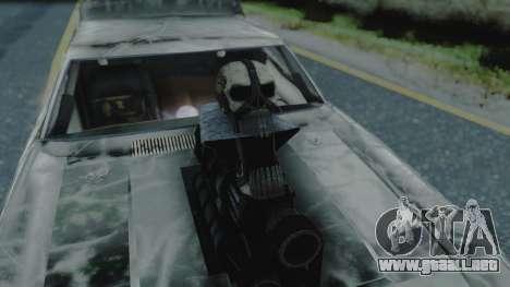 Razor Cola v1.0 para visión interna GTA San Andreas