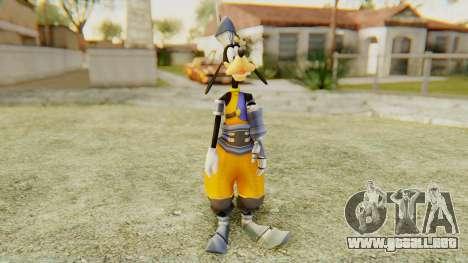 Kingdom Hearts 1 Goofy Disney Castle para GTA San Andreas segunda pantalla