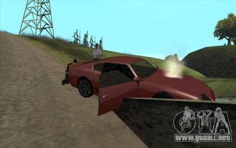 Viaje por carretera 1.0 para GTA San Andreas segunda pantalla