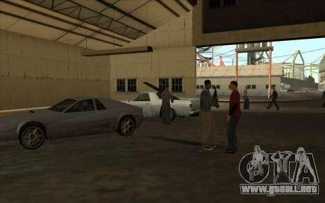 El garaje en el muelle para GTA San Andreas