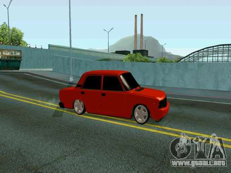 VAZ 2107 Rang Rover Edition para GTA San Andreas left
