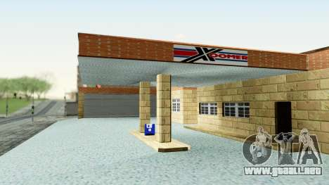 HD Doherty Garage para GTA San Andreas segunda pantalla