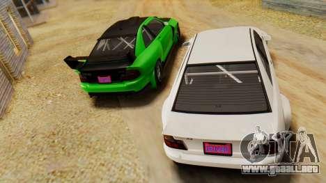 GTA 5 Karin Sultan RS IVF para la visión correcta GTA San Andreas