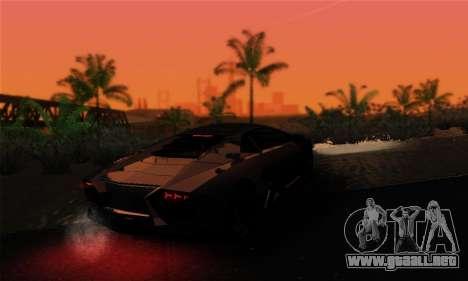 EnbUltraRealism v1.3.3 para GTA San Andreas sucesivamente de pantalla