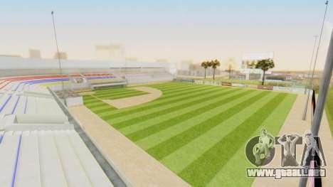 Stadium LV para GTA San Andreas sucesivamente de pantalla