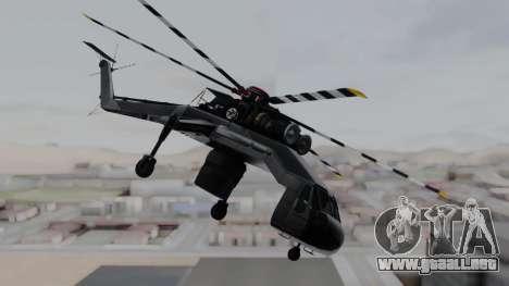 GTA 5 HVY Skylift para GTA San Andreas