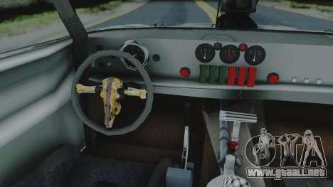 Razor Cola v1.0 para GTA San Andreas vista hacia atrás