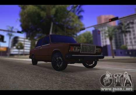 VAZ 2107 Oper para GTA San Andreas