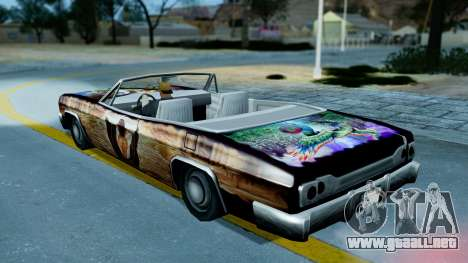 Slamvan New PJ para visión interna GTA San Andreas