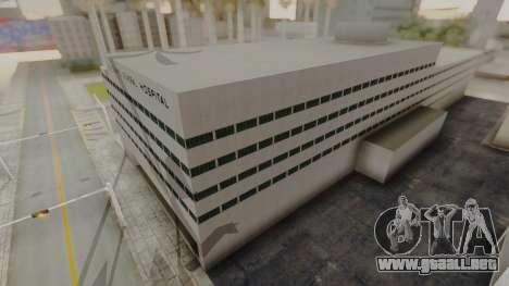 Hospital LS para GTA San Andreas tercera pantalla