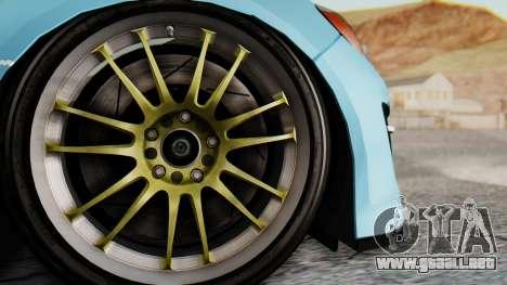 Mazda RX-8 Itasha para GTA San Andreas vista hacia atrás