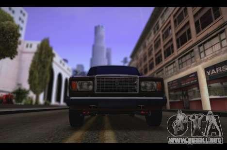 VAZ 2107 Oper para GTA San Andreas left