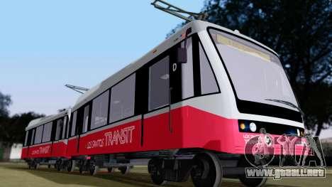 GTA 5 Metrotrain para GTA San Andreas left