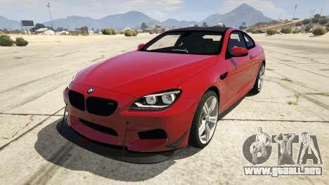 2013 BMW M6 Coupe para GTA 5
