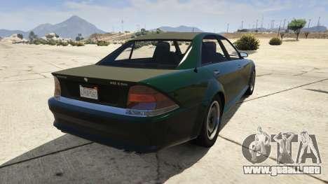 GTA 5 GTA 4 Schafter vista lateral izquierda trasera