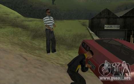 Viaje por carretera 1.0 para GTA San Andreas sucesivamente de pantalla