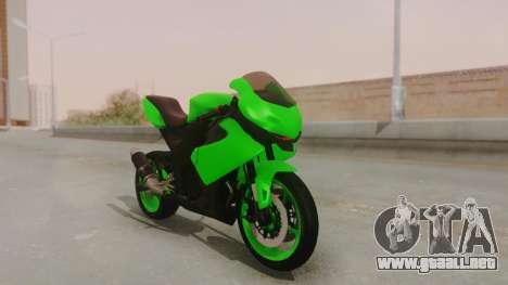 Bajaj Pulsar 200FS para GTA San Andreas