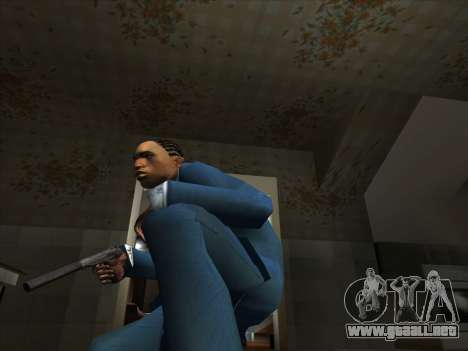 Un conjunto de armas rusas para GTA San Andreas octavo de pantalla