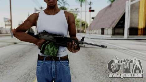 MG4 para GTA San Andreas tercera pantalla