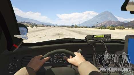 GTA 5 NYPD Ford CVPI HD vista trasera