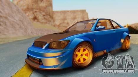 GTA 5 Karin Sultan RS Carbon para GTA San Andreas