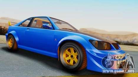 GTA 5 Karin Sultan RS Carbon para la visión correcta GTA San Andreas