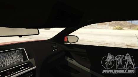 GTA 5 2013 BMW M6 Coupe vista lateral trasera derecha