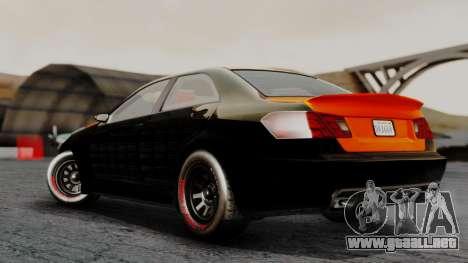 GTA 5 Benefactor Schafter V12 Arm para GTA San Andreas left