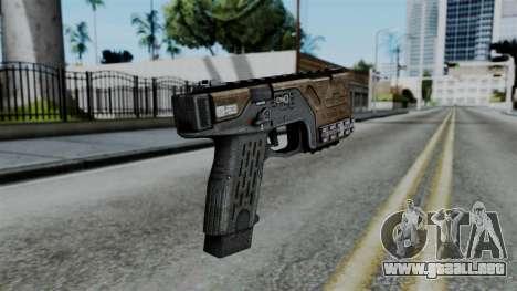 CoD Black Ops 2 - KAP-40 para GTA San Andreas segunda pantalla
