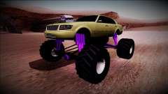 GTA 4 Washington Monster Truck para GTA San Andreas
