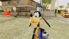 Kingdom Hearts 1 Goofy Disney Castle