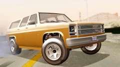 GTA 5 Declasse Rancher XL para GTA San Andreas