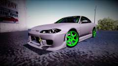 Nissan Silvia S15 Drift Monster Energy para GTA San Andreas