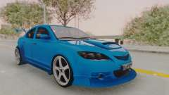 Mazda 3 Full Tuning para GTA San Andreas