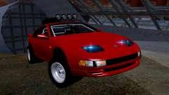 Nissan 300ZX Rusty Rebel para GTA San Andreas