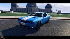 Dodge Challenger 2015 para GTA 5