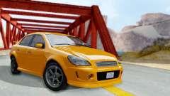 GTA 5 Declasse Premier Coupe para GTA San Andreas
