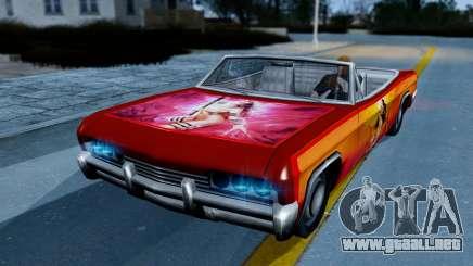 Slamvan New PJ para GTA San Andreas