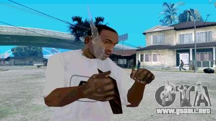 De vidrio con mango para GTA San Andreas