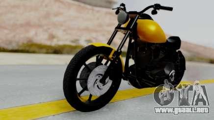 Harley-Davidson Dyna Super Glide T-Sport 1999 para GTA San Andreas