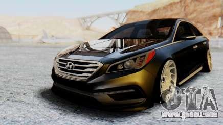 Hyundai Sonata Turbo 2015 para GTA San Andreas