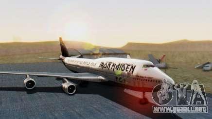 Boeing 747-428 Ed Force One para GTA San Andreas