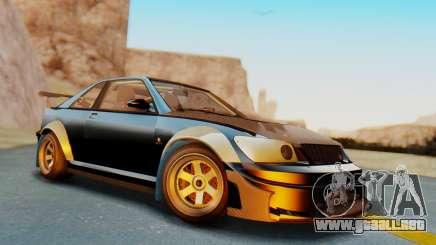 GTA 5 Karin Sultan RS Carbon IVF para GTA San Andreas