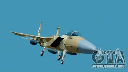 McDonnell Douglas F-15E Aggressor Desert para GTA San Andreas