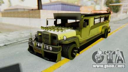 LGS Motors Eggtype Jeepney para GTA San Andreas