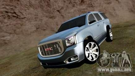 GMC Yukon Denali 2015 para GTA San Andreas