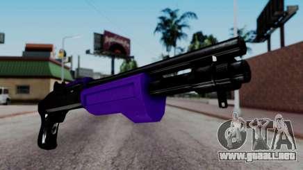 Purple Spas-12 para GTA San Andreas